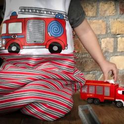 Fire Engine Toddiebag