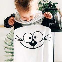 Big Face Toddiebag - Cat